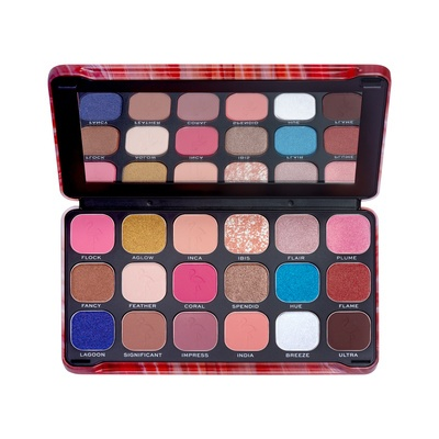 Eyeshadow Palette MAKEUP REVOLUTION Forever Flawless Flamboyance Flamingo 19.8g