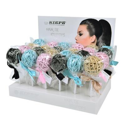 Gumice za kosu KIEPE Hair The Lollipops B.140.163 Displej 24x24