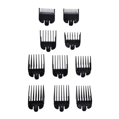 Comb Set for Hair Clippers INFINITY Rebel 10pcs