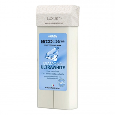 Roller Cartridge Depilatory Wax ARCO Diamond Ultrawhite 100ml