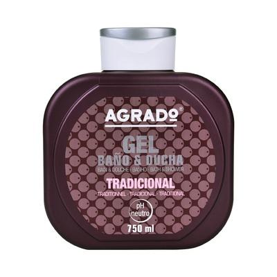 Bath & Shower Gel AGRADO Tradicional 750ml