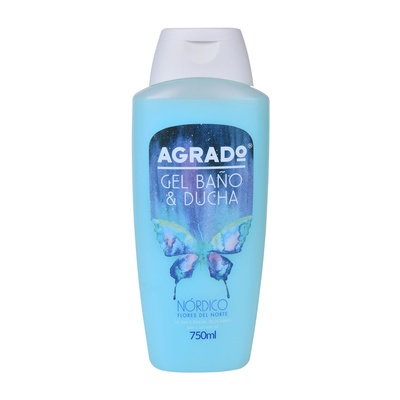 Bath & Shower Gel AGRADO Northern 750ml