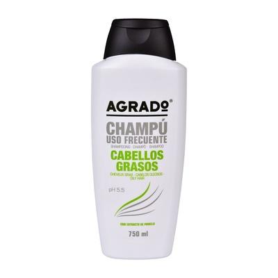 Oily Hair Frequent Use Shampoo AGRADO Grapefruit 750ml