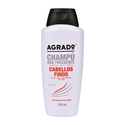 Shampoo for Fine Hair AGRADO Grape & Cucumber 750ml