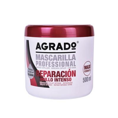 Repair Intense Shine Hair Mask AGRADO Silk Protein & Collagen 500ml