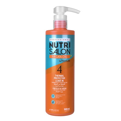 Thermal Protector Leave-In NUTRISALON Argan Oil 500ml