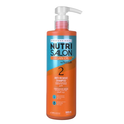 Anti-Residue Shampoo NUTRISALON Argan Oil 500ml