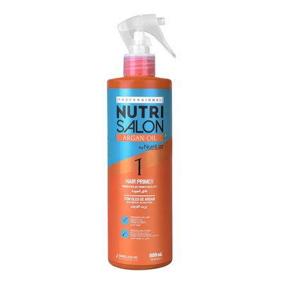 Hair Primer with Protein Complex NUTRISALON Argan Oil 500ml