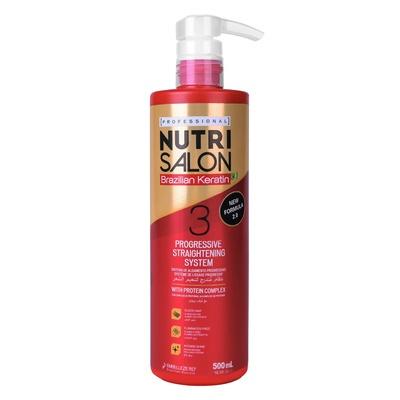 Tretman za ispravljanje kose NUTRISALON Brazilian Keratin 500ml