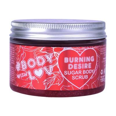 Šećerni piling za telo BODY WITH LUV Burning Desire 150g