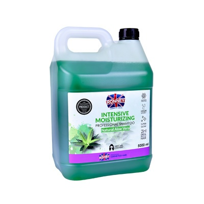 Intensive Moisturizing Shampoo RONNEY Aloe Vera 5l