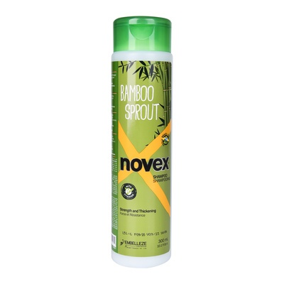 Shampoo for Strength and Thickening Hair NOVEX Bamboo Sprout 300ml
