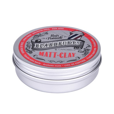Hair Wax Super Strong Hold BEARDBURYS Matte Clay 100ml