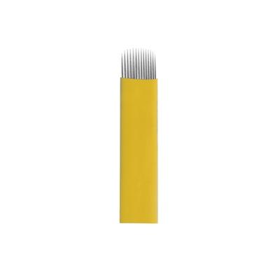 Nožići za japansko iscrtavanje obrva 14U BIOMASER 0.20mm 10/1