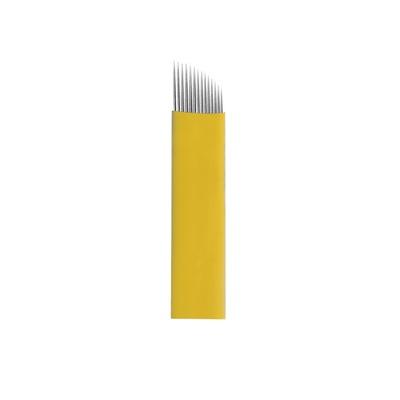 Nožići za japansko iscrtavanje obrva 16CF BIOMASER 0.20mm 10/1