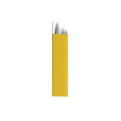 Nožići za japansko iscrtavanje obrva 14CF BIOMASER 0.20mm 10/1