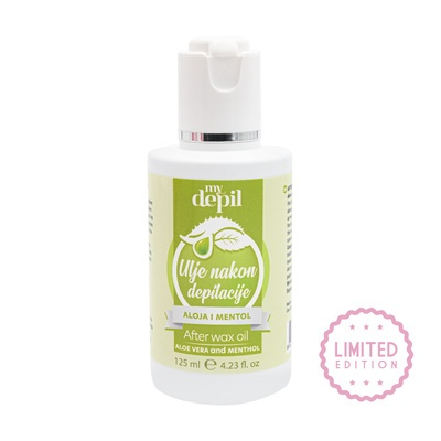 After Wax Oil SPA NATURAL MyDepil Aloe Vera & Menthol 125ml
