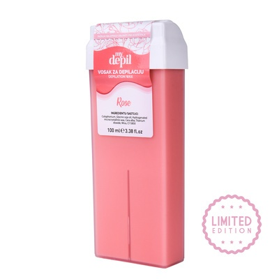 Roller Cartridge Depilatory Wax SPA NATURAL MyDepilL Rose 100ml