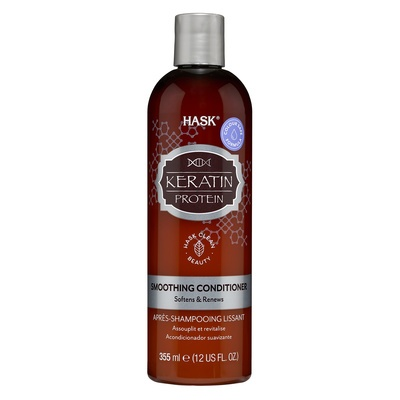 Smoothing Conditioner Sulfate Free HASK Keratin Protein 355ml