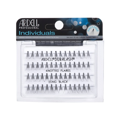 Individual Lashes Knotted Flares ARDELL Long Black