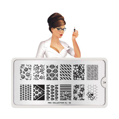Stamping Nail Art Image Plate MOYOU Pro XL 24
