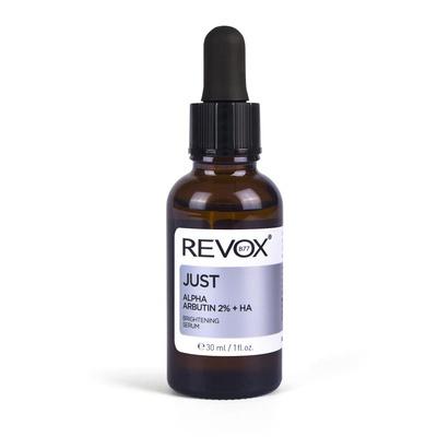 Serum za posvetljivanje kože lica REVOX Just Alpha Arbutin 2% + HA 30ml