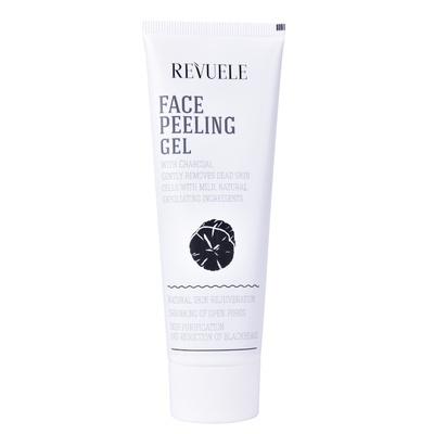 Piling gel za lice sa aktivnim ugljem REVUELE Charcoal 80ml