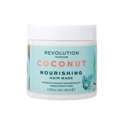 Hranljiva maska za oštećenu kosu REVOLUTION HAIRCARE kokos 200ml