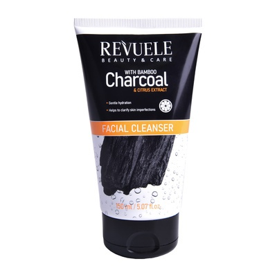 Gel za čišćenje lica REVUELE Bamboo Charcoal 150ml