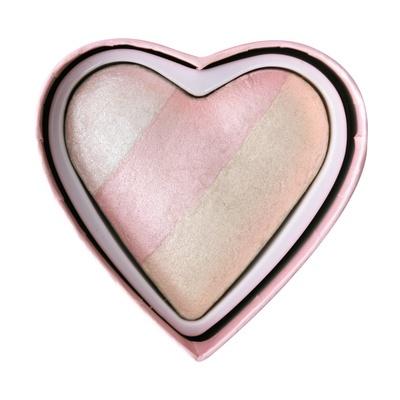 Hajlajter za lice I HEART REVOLUTION Glow Unicorn Heart 10g