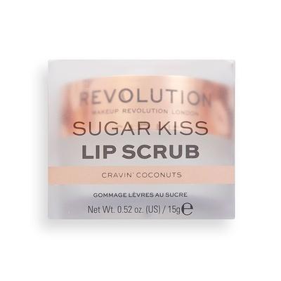 Piling za usne MAKEUP REVOLUTION Sugar Kiss Cravin' Coconuts 15g