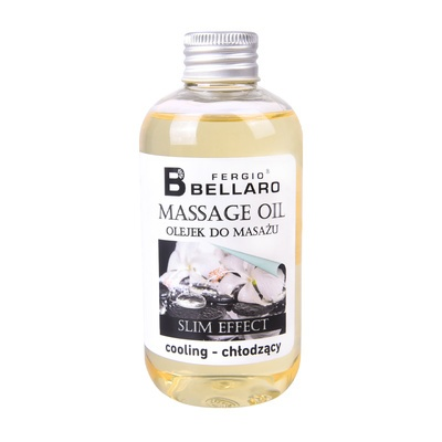 Slim Effect Massage Oil FERGIO BELLARO Cooling 200ml