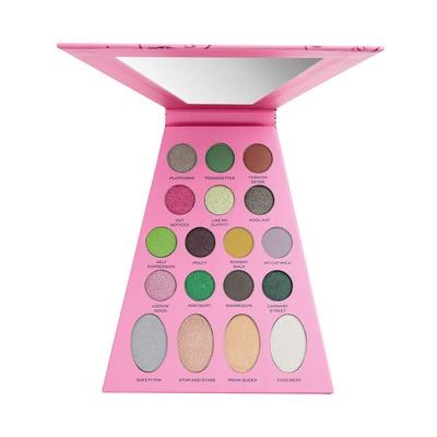 Paleta senki za oči MAKEUP REVOLUTION Bratz Doll Palette Jade 12.4g
