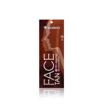 Krema za solarijum SOLEO Face Tan 5ml