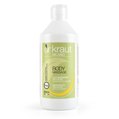 Anti-Cellulite Massage Oil with Ivy DR KRAUT K1014 500ml