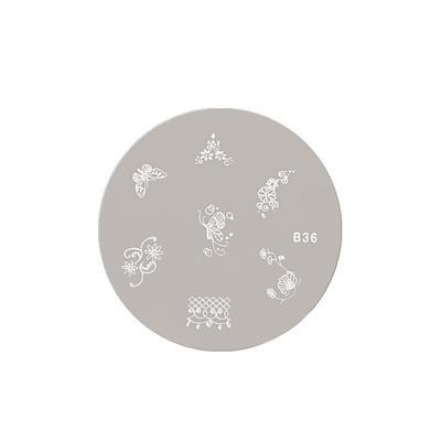 Šablon disk za pečate ASN B36