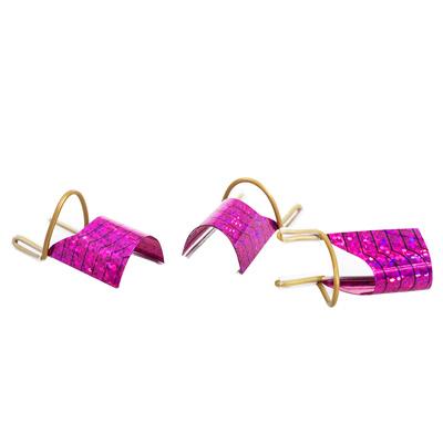 Reusable Nail Forms Purple ASNNF15 5/1