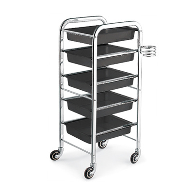 Trolley for hair salons DP 5102 Black