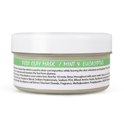 Pedicure Clay Mask SPA REDI Mint and Eucalyptus 120ml