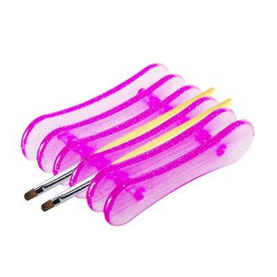 Stalak za četkice za nokte ASNBJ7 Pink