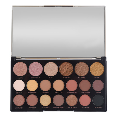 Paleta senki za oči MAKEUP REVOLUTION Jewel Collection Gilded 16.9g