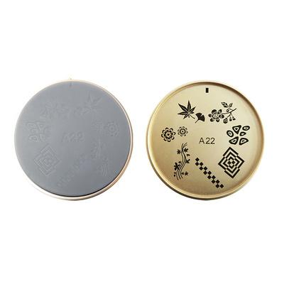 Šablon silikonski za Nail Art A22