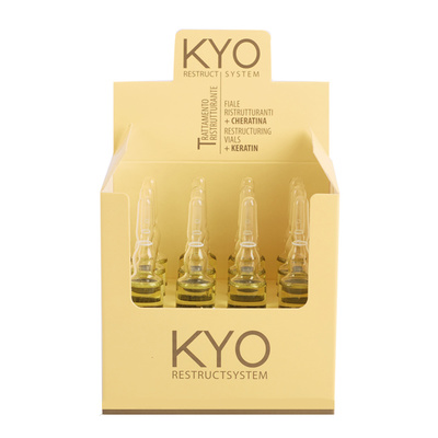 Hair Restructing Keratin Ampoule KYO Restruct System 12pcs