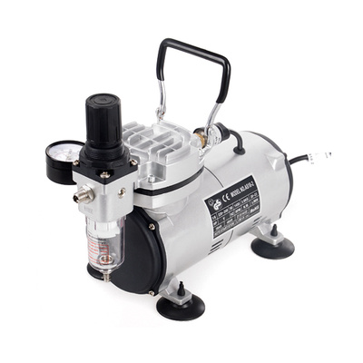 Piston/Oil-Free Airbrush Compressor AS 182 with One Exhaust