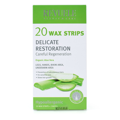 Body Depilation Strips for Sensitive Skin REVUELE 20/1