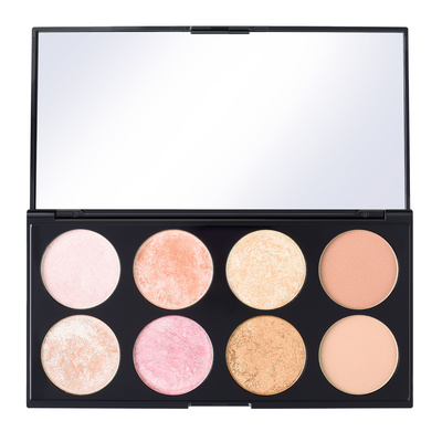 Paleta rumenila, bronzera i hajlajtera REVOLUTION MAKEUP Ultra Blush Golden Sugar 2 15g
