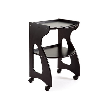 Cosmetic trolley DP6022 with two shelves and holder for device accessories