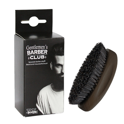 Beard and Moustache Brush 3ME Gentlemen's Barber Club
