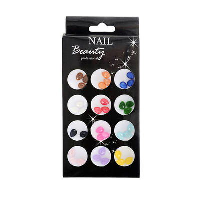 Colourful Style Nail Art Tears AN06