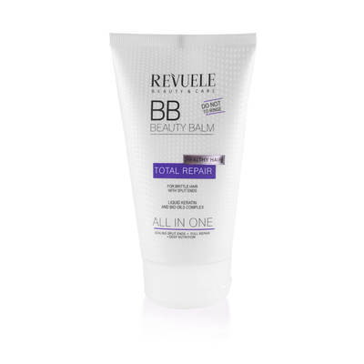 Leave In Conditioner for Brittle Hair With Split Ends REVUELE Total Repair 150ml